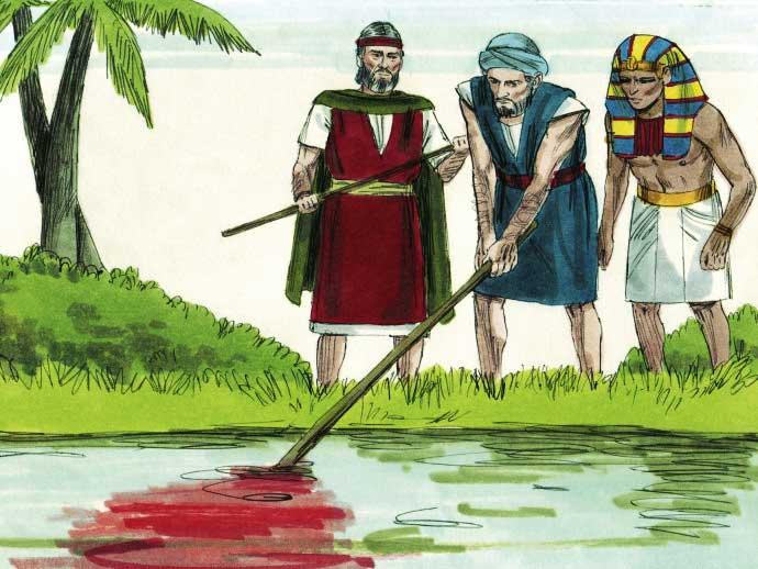 Primeira Praga do Egito: As águas do Rio Nilo foram transformadas em Sangue