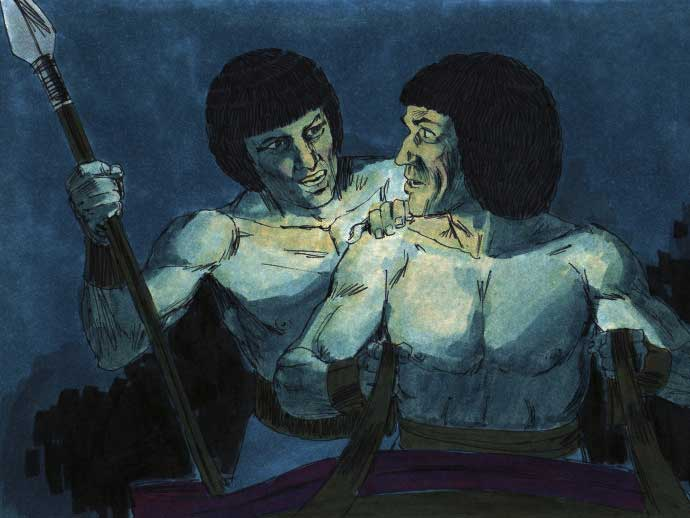 Nona Praga:As Trevas e a Escuridão total